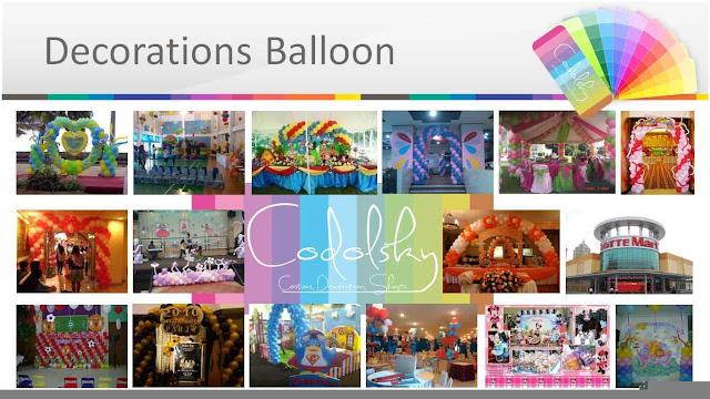 Dekorasi balon Birthday anak dan sweet seventeen (17)