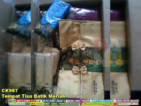 jual Tempat Tisu Batik Meriah