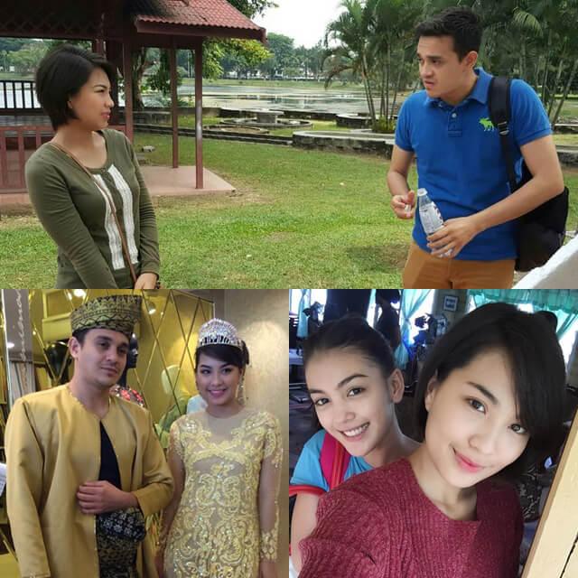 Telemovie Tesis Cinta Untuk B ,Lakonan Janna Nick, Eyka Farhana