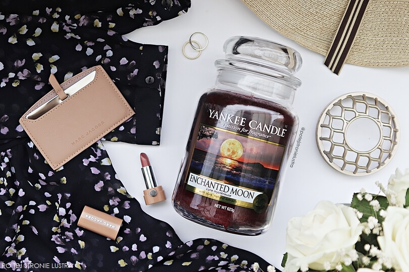 yankee candle enchanted moon recenzja blog