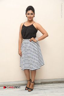 Telugu Actress Kruthika Jayakumar Stills in Short Dress at Intlo Deyyam Nakem Bhayam Success Meet  0267.JPG