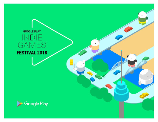 Google Play - Indie Games Festival 2018 開催のお知らせ
