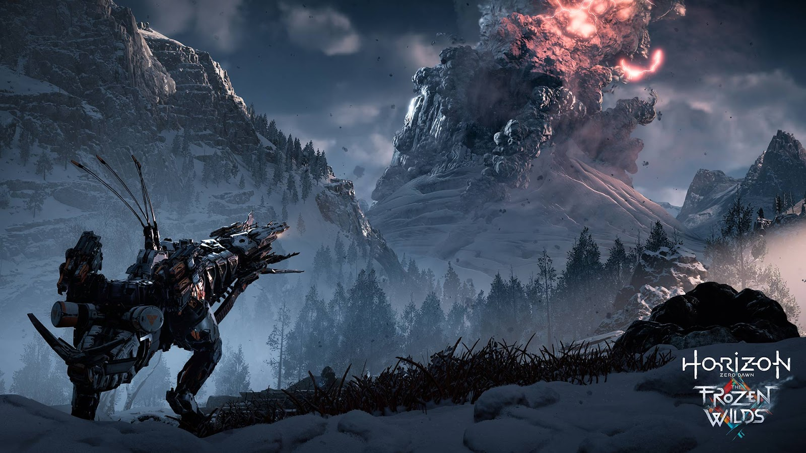 The Frozen Wilds de Horizon Zero Dawn se lanzará el 7 de noviembre