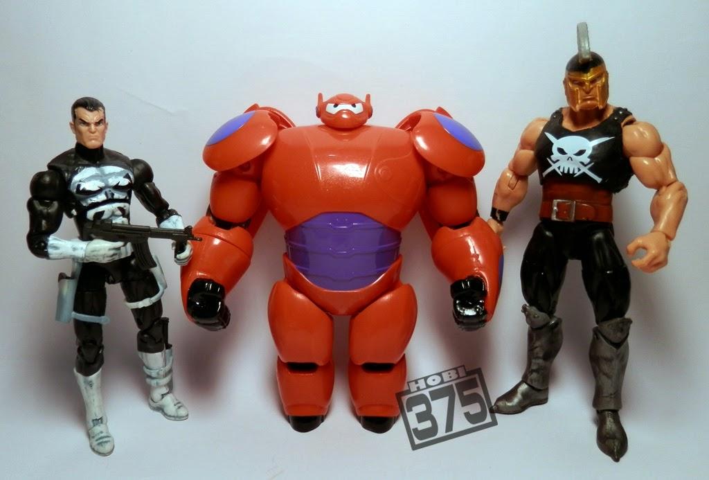 HOBI 375: Review Action Figure Baymax -- Big Hero 6 Ukuran ...