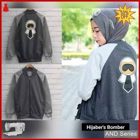 AND378 Jaket Wanita Hijaber's Bomber Jacket BMGShop