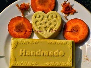 Jabón de zanahoria / Carrot soap