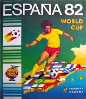 Panini foot nostalgie album panini foot coupe du monde espagna 82 - Coupe du monde de football 1982 ...
