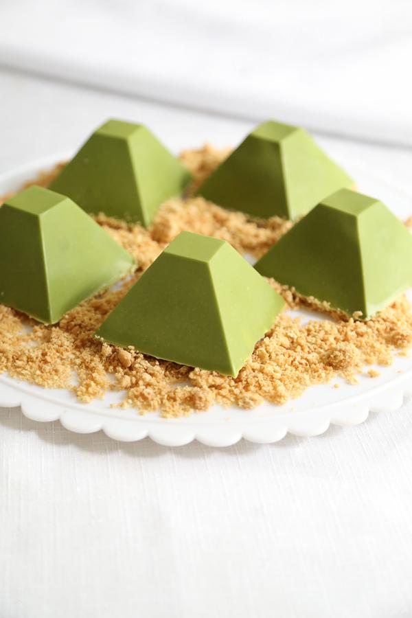 Matcha Picchu Dessert