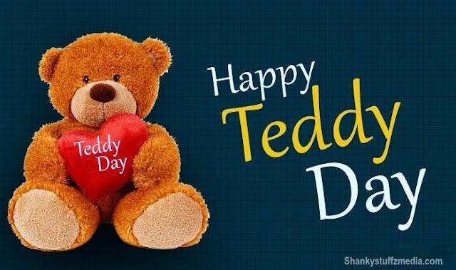 Happy Teddy bear day greeting card