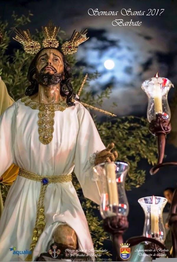 Programa, Horario e Itinerario Semana Santa Barbate (Cádiz) 2017