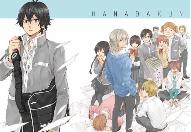 Daftar Anime School Comedy Terbaik dan Terpopuler - Handa-Kun