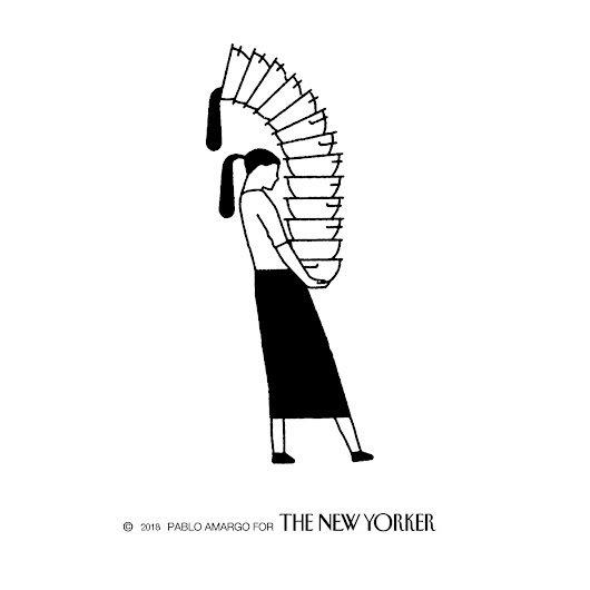 "THE NEW YORKER ""THE WAITER"""