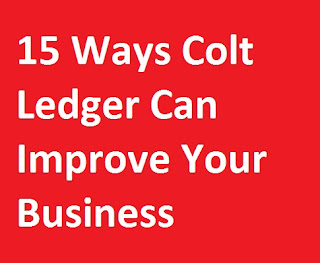 15 Ways Colt Ledger Can Improve Your Business