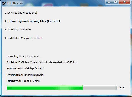 Cara Membuat Bootable OS Flahsdisk Dengan UNetbootin