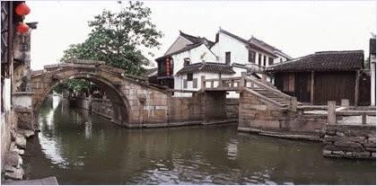 สะพานคู่หมู่บ้านโจวจวง