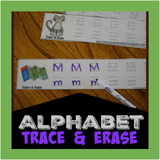 alphabet trace and erase