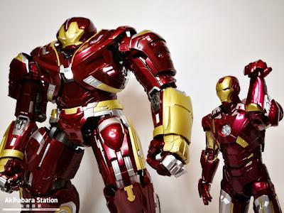 Chogokin X S.H.Figuarts Hulk Buster 2.0 de Avengers: Infinity War - Tamashii Nations