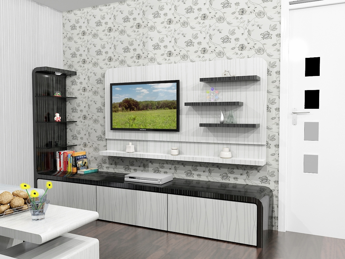 Blockboard Harga Rak Tv - Dian Interior Design