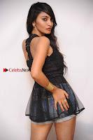 Kannada Actress Shama Taj in Denim Shorts at Engineers Movie Press Meet  0006.jpg