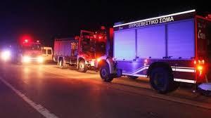 Παρανάλωμα του πυρός τροχόσπιτο στη Νέα Καλλικράτεια