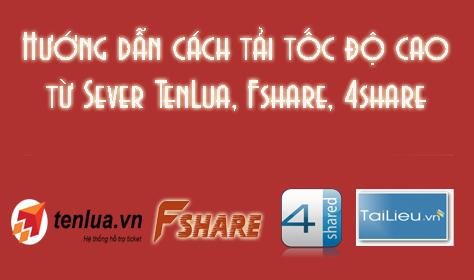 Script nhận diện link Fshare, 4share và tạo nút Download Max Speed