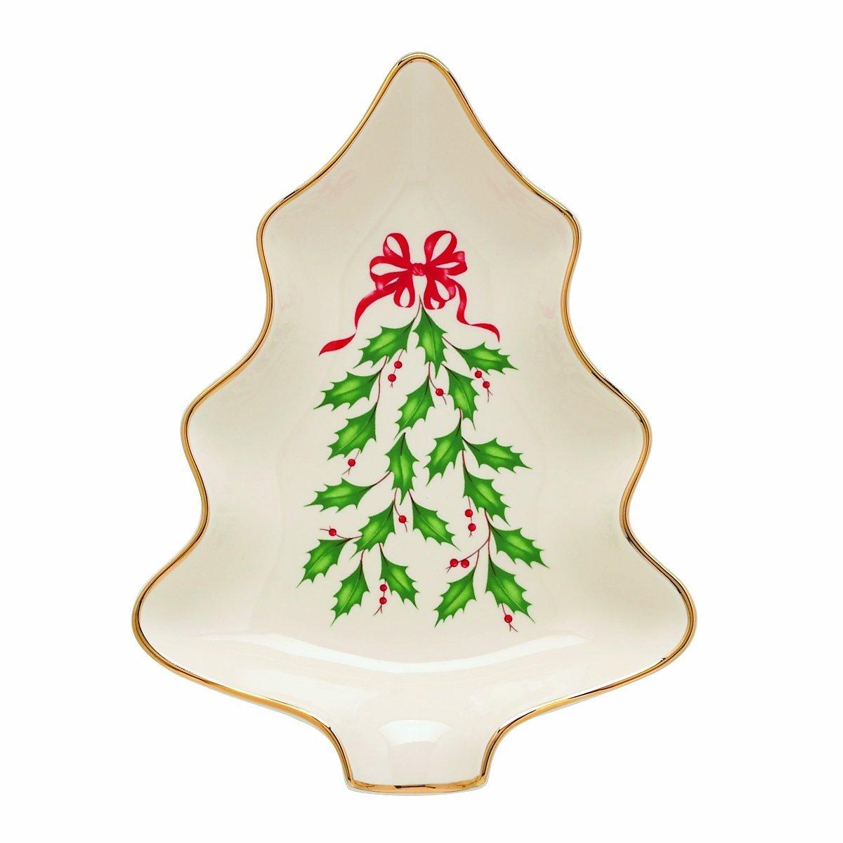 Lenox Holiday Christmas Tree Dishes