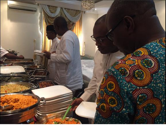 El-Rufai and His Havard University Friends Eat Jollof Rice At Re-union In Abuja - Photos