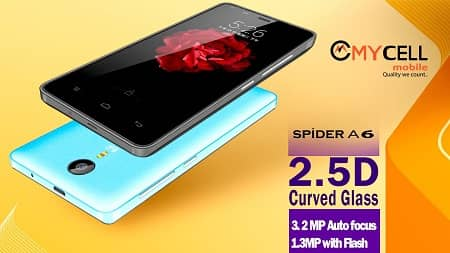 Mycell Spider A6 Smartphone