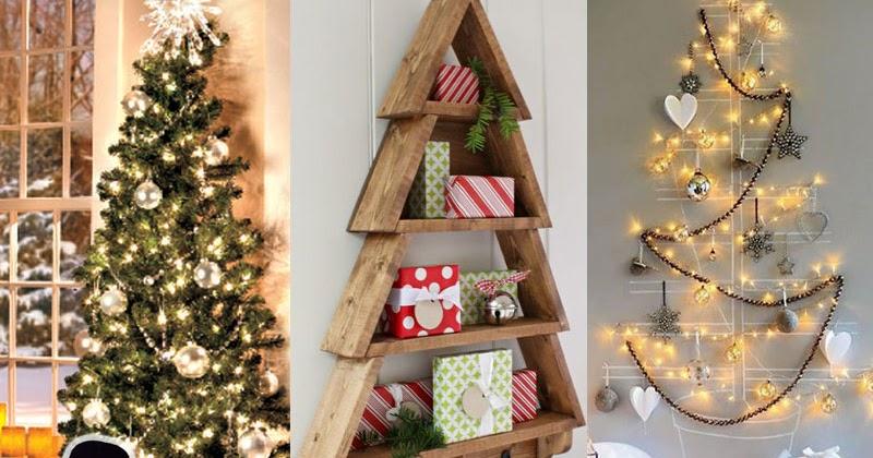 26 idee alberi di natale non convenzionali per case - Idee per case piccole ...