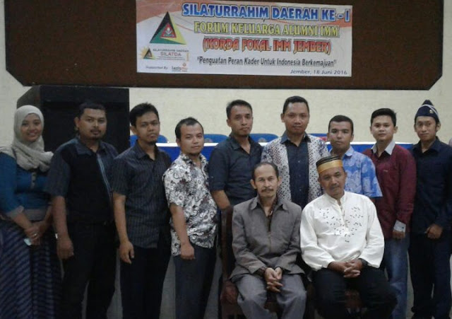 Silaturahmi Daerah ke-I Forum Keluarga Alumni IMM Korda Jember
