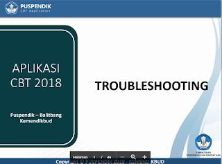 Cara Permasalahan dan Solusi UNBK 2018 Troubleshooting