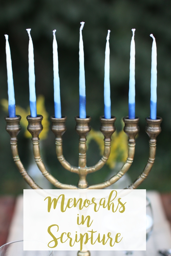 Menorahs in Scripture