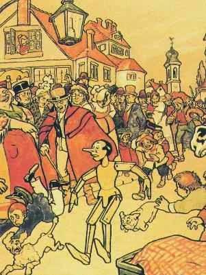 Resultado de imagem para história pinoquio original