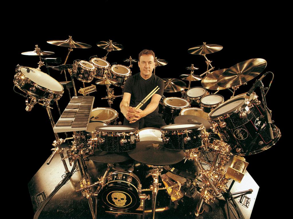 Resultado de imagen para Muere Neil peart gran y emblematico baterista de Rush