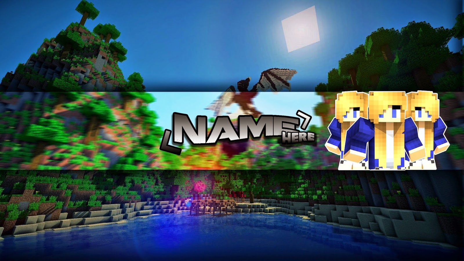 Holly's Gfx. : Minecraft Banner Template
