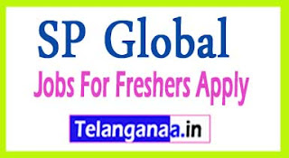 SP Global Recruitment 2017 Jobs For Freshers Apply