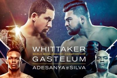 UFC 234 : Robert Whittaker Vs Kelvin Gastelum Poster