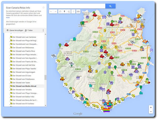 Gran Canaria Karte Flughafen.Gran Canaria Reise Info Der Strand Von Patalavaca