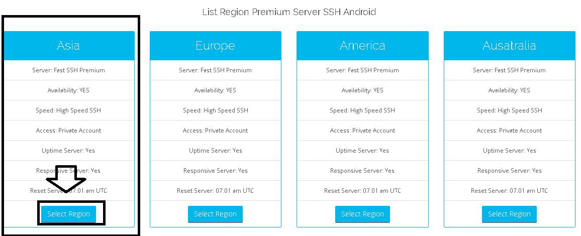 Membuat Akun SSH Premium di SSH Android - Kumpulan Remaja