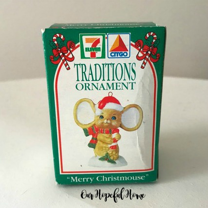 7 Eleven Citgo Christmas Ornament 1993 original box