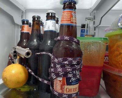 Bier im Kühlschrank lustig