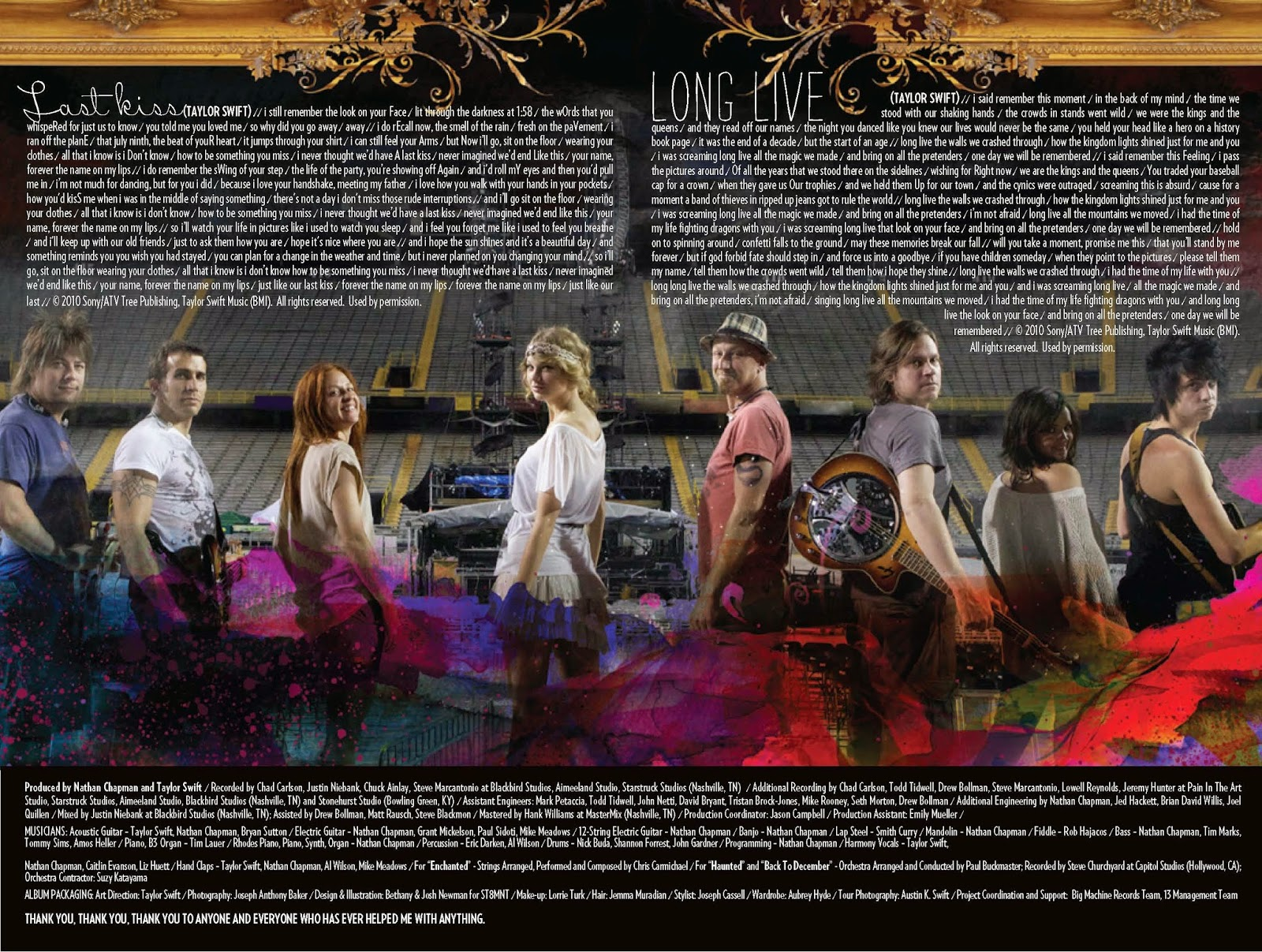 Taylor Swift Speak Now Digital Booklet Pdf