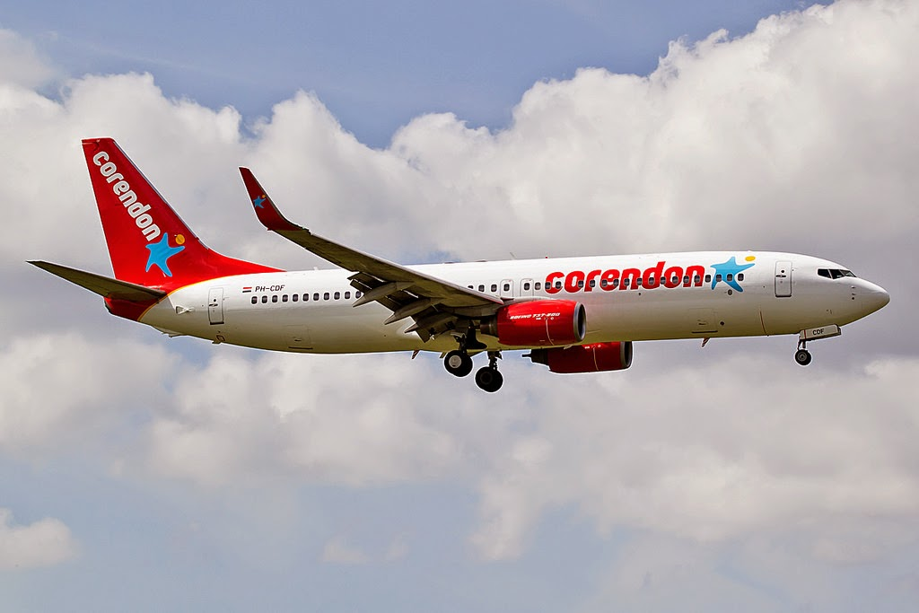corendon dutch airlines check in