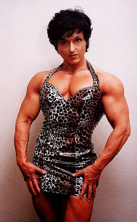 80's Female Muscle: Christa Bauch