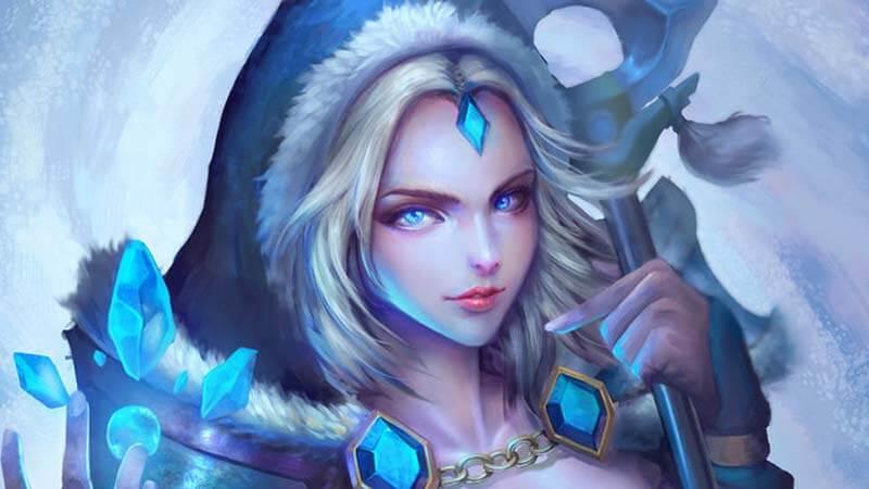 Crystal Maiden Dota 2
