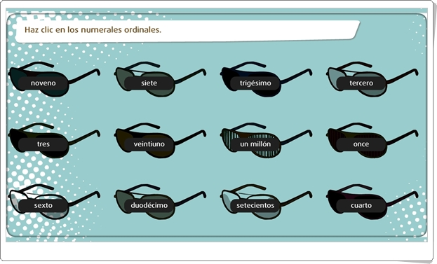 """""""Los determinantes: posesivos, numerales e indefinidos"""" (Juego de clases de palabras de Primaria)"""