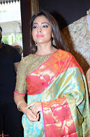 Shriya Saran Looks Stunning in Silk Saree at VRK Silk Showroom Launch Secundrabad ~  Exclusive 121.JPG