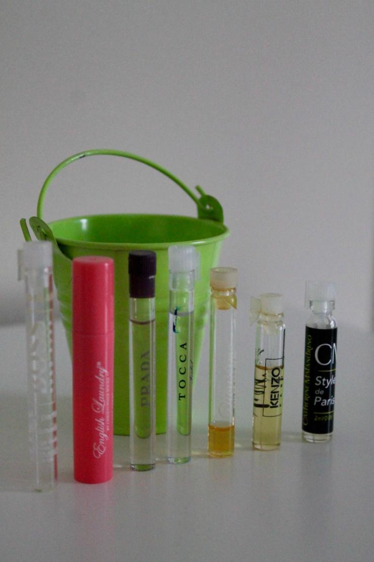 My perfume story: Birchbox haut couture perfume samples
