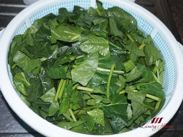 healthy eating benefits of spinach