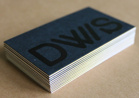letterpress business card  contact card designs